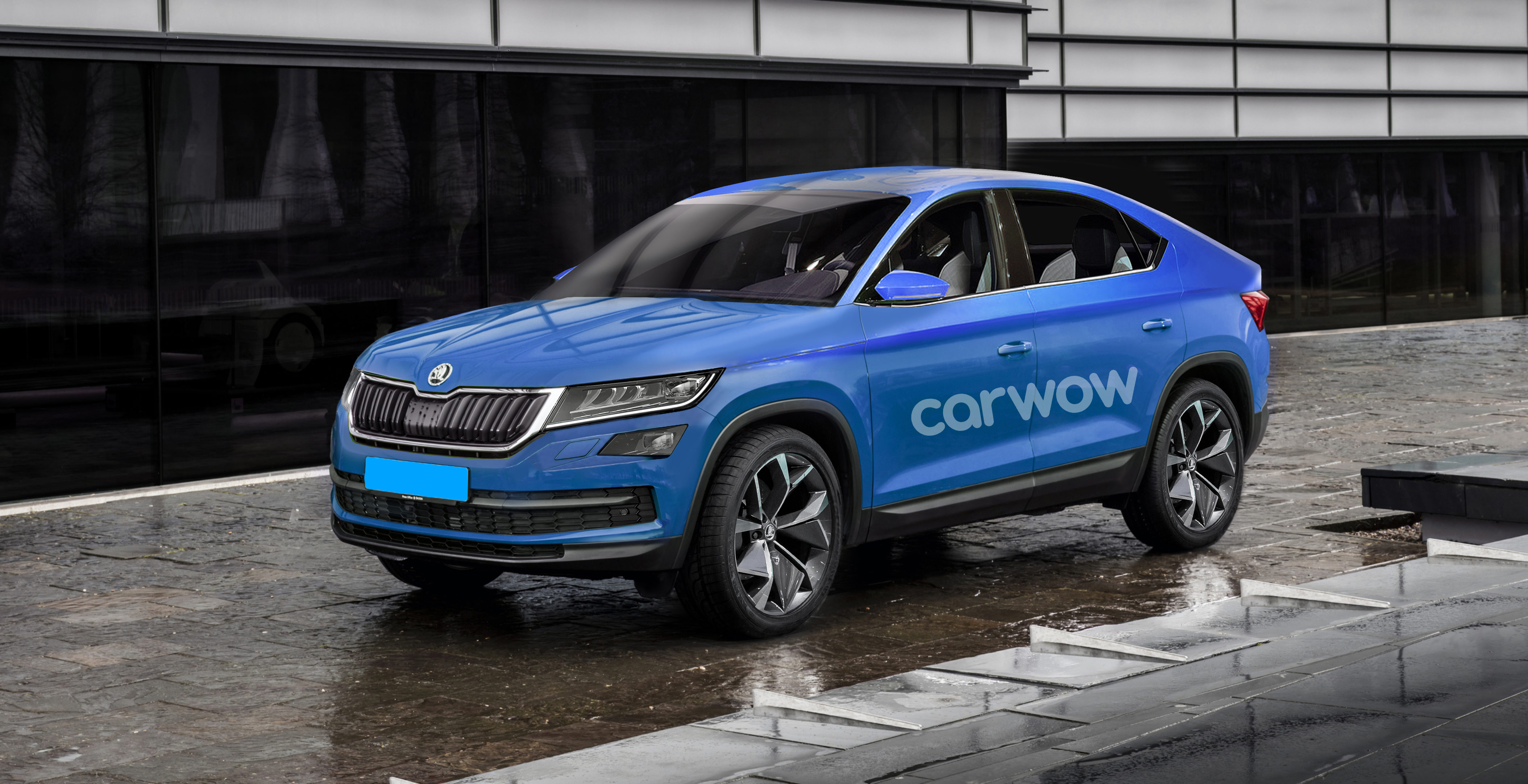skoda kodiaq coup 2019 preise motoren verkaufsstart carwow. Black Bedroom Furniture Sets. Home Design Ideas